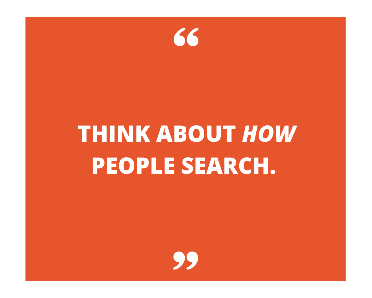 long form seo content and how people search